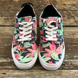 Vans Off The Wall Low Top Floral Sneakers SK8 Shoe